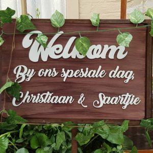 Saartjie and Christiaan Wedding at Revier Plaas - 11th of May 2019 - Vaal Wedding DJ