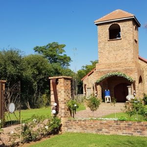 The Chapel at Benedetto On Vaal Venue during Dwaine and Inge-Mari wedding