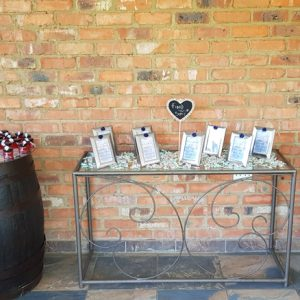 Another view of the seating arrangements at Benedetto On Vaal Venue during Dwaine and Inge-Mari wedding