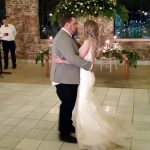 Gareth and Tiffany having there first dance us husband and wife at Lace on Timber with Vaal Wedding DJ