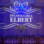 Another view of at Dylan and Carla's Wedding Monogram at Benedetto On Vaal Venue