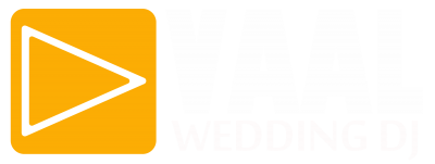 Vaal Wedding DJ - Big Logo WHITE