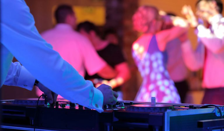 Vaal Wedding DJ - Dance floor Lights
