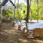 Alicia's dream outdoor wedding ceremony