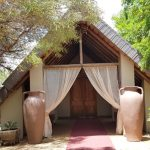 A View of the chapel at Bona Bona Game Lodge on Emily and Nicholas's Wedding