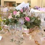 Another view of the table settings at Bona Bona Game Lodge on Emily and Nicholas's Wedding