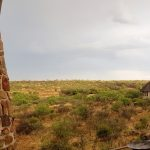 Another view from the patio at Bona Bona Game Lodge on Emily and Nicholas's Wedding
